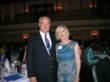 Jim Clifton with Becky McDonough, Executive Vice President  of the Hopewell-Prince George Chamber of Commerce. Becky read Clifton's book, raised funds for his fee and invited him to speak.