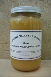 Raw Autumn Wildflower Honey