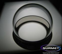 Surmet's hyper-hemispherical dome