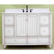 "SunnyWood BB4821D - 48"" Wood Bathroom Vanity Cabinet From The Bristol Beach Collection"