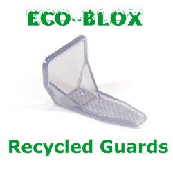 Snow Guards made from recycled plastic.