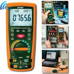 extech mg300 dmm insulation tester fluke 1587 1577