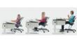 The only desk your child will need, the Moll Champion Adjustable Kids Desk grows with your child.
