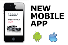 Boardwalk Audi Launches Mobile App for iPhone, Android and