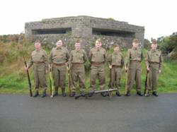 Home Guard Officers