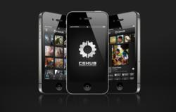 CGHUB iOS 3 views Black Close