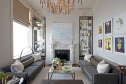 interior designer intarya grand residence drawing room at the Lancasters London