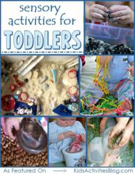 sensory activities for one year olds