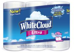 The number one ranked bath tissue adds White Cloud Ultra Paper Towels® to product family