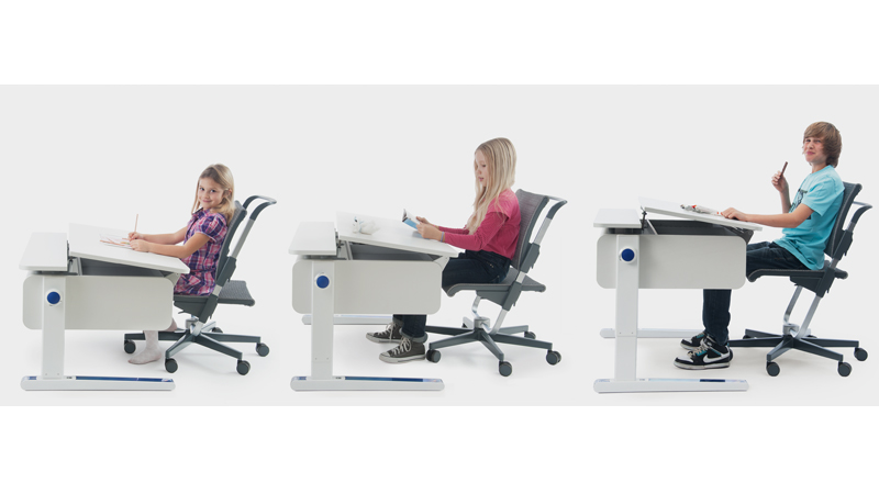 the only desk your child will need the moll champion adjustable kids desk grows with your childthe moll champion adjustable kids desk is easy to adjust to childs office chair