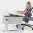 Moll Champion Adjustable Kids Desk features a tilting desk surface to reduce eye strain and encourage healthy posture.