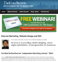 DotComSecretsLocal IMA in Malaysia