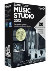 Samplitude Music Studio 2013