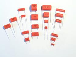 Cornell Dubilier's Orange Drop capacitors