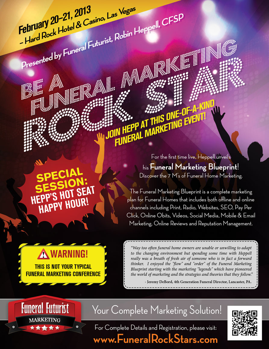 the ultimate funeral marketing seminar  robin heppell reveals how any funeral home can create an
