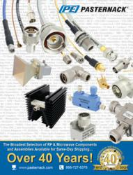 new rf and microwave parts catalog from pasternack enterprises