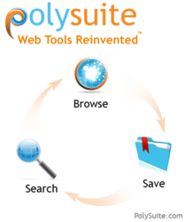 PolySuite: Web Tools Reinvented logo. Search. Browse. Save.
