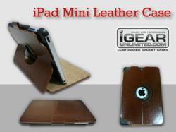 iPad Mini Leather Case