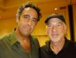 "Brad Garrett (left) with Hollywood director Rob Schiller, at third annual  ""All-In For All Good"" Celebrity Poker Tournament benefiting Maximum Hope Foundation"