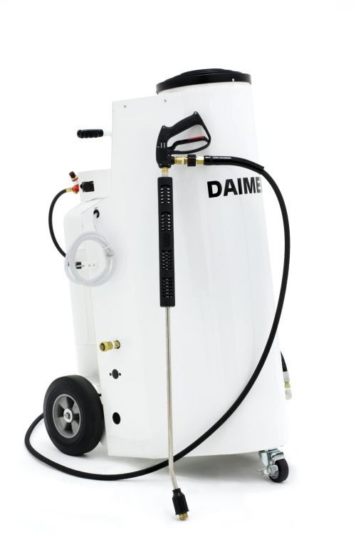 Daimer Releases New Combination Pressure Washer Steam