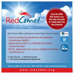 Red Comet's New Updated Online Curriculum for High School