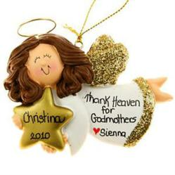 Angel Personalized Ornament Christmas Tree Decoration