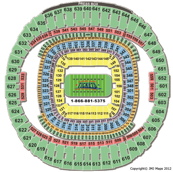 Louisiana superdome virtual seating chart for Mercedes benz dome seating chart