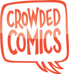 Crowded Comics logo