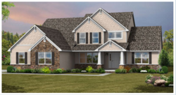 Ohio custom homes: The Covington custom home floor plan by Wayne Homes