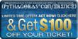 Get $100 off your 5-day admission ticket