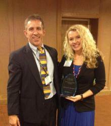 Ken Nowak of FunMobility and Cassidy Hamilton of Chiquita Brands Receive the 2012 IBM LEADER Award for Excellence in Digital Applications