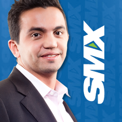 Hassan Bawab, CEO of Magic Logix presents along side Bing and Quantcast at SMX East NYC