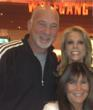 Hollywood director Rob Schiller joins Shelli Azoff and Cheryl Hines at Maximum Hope Foundation fundraiser in Las Vegas.