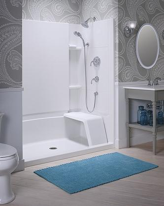 A Guide to Shower Stalls and Shower Walls: Quick Shower Solutions ...