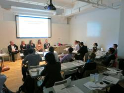 Panel discussion during Destination Accelerator NYC 2012