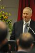 Seattle Mayor MIke McGinn giving his welcome remarks at the opening of the US-India trade summit