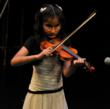 Eight year old Ritika from Nepal performing on Violin playing a hymn composed by Guru Ji Dr. Chandra Bhanu Satpathy