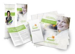 Fluid Creativity designed marketing collateral for Bioedit Ltd