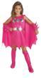 Girl's Pink Batgirl Costume