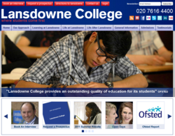 Lansdowne College Website