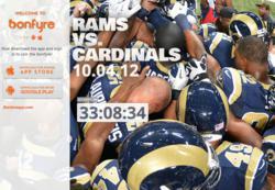 St. Louis Rams Official Bonfyre