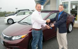 Credit Unions Care Foundation of Virginia Raffles Off 2012 Honda Civic as Charity Fundraiser