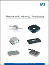PI's Piezoelectric  Motors Brochure