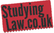studing law logo