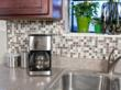 DIY Backsplash Kit - Peel & Stick Glass Mosaic Tiles