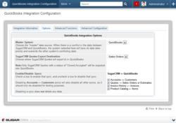 SugarCRM QuickBooks Integration