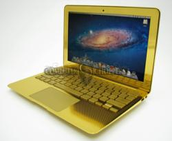 Computer Choppers 24kt Gold Macbook Air