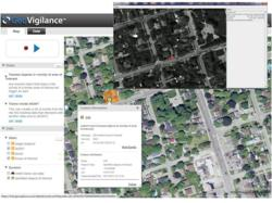 Screenshot of GeoVigilance