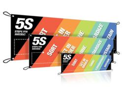 5S Steps For Success Banner