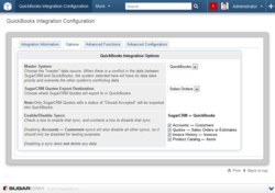SugarCRM QuickBooks Integration